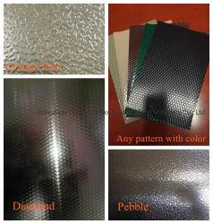 Feuille en aluminium aluminium gaufré de stuc pour réfrigérateur/ Roofing/ décoration etc