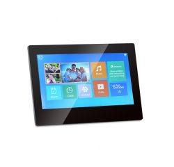 Aiyos 新しい 7 インチ Bluetooth 容量性 LCD タッチスクリーン Android 8.1 クラウドデジタルフォトフレーム
