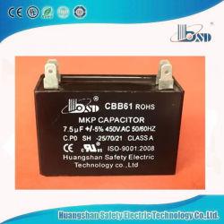 Cbb61 AC Condensateurs Condensateurs de fonctionnement du moteur du ventilateur