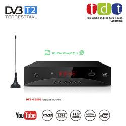 Junuo Colômbia H. 264 Receptor de TV Digital Receptor Tdt DVB-T2