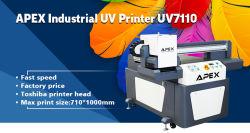 2019 Nouveau Grand Format UV Apex7110 Imprimante scanner à plat UV pour le commerce de gros