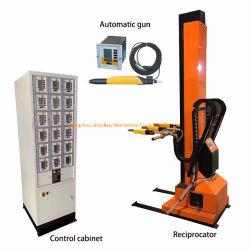 Sistema a spruzzo automatico del rivestimento della polvere per la pittura di superficie dei prodotti metalliferi