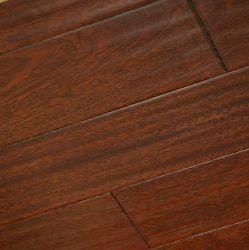 Sombre couleur Red-Brown Jatoba Engineered Wood Flooring