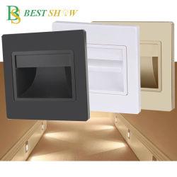 Guangzhou IP65 bewegingssensor Waterproof trappenlamp LED trap Wandlamp 1 W 2 W 3 W voor balkon