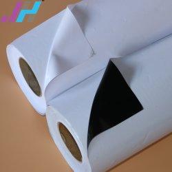 デジタル印刷の光沢のある白PVC自己接着ビニール