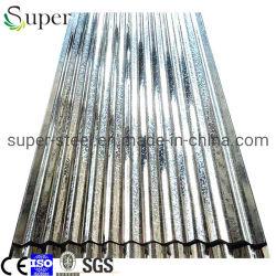 波形の電流を通された亜鉛屋根シート/鉄の鋼鉄