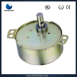 Électrique synchrone réversible moteur AC/DC pour climatisation/commande de soupape de pivotement