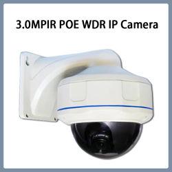 3MP WDR PoE IP 반달 방지 돔 줌 렌즈 카메라