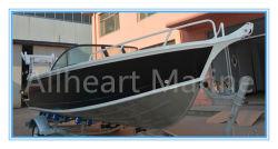 5.8M/19ft Bowrider nuevo modelo de diseño de la velocidad de aluminio en barco a motor para la venta