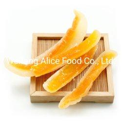 Embalaje a granel Buen Precio deshidratado de Fruta Tropical Seca Melón Slice Snack