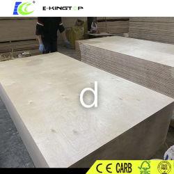 Les fournisseurs chinois de peuplier de placage de noyau commercial Okoume bouleau contreplaqué décoratif