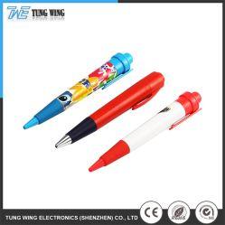 Articoli promozionali per penna a sfera multicolore in plastica