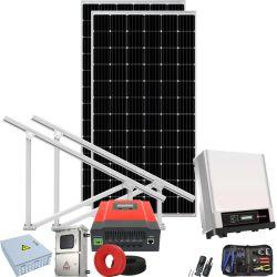 투구된 지붕 휴대용 태양/터빈 발전기 장비