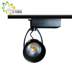 4wires Epistar COB LED Track Light 30W mit 15-24 Grad Strahlwinkel