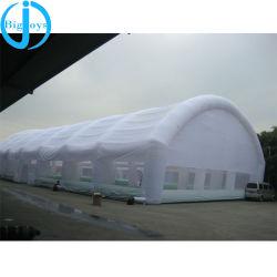 Prezzo gonfiabile di campeggio della tenda del grande di esplosione del cubo indicatore luminoso esterno della festa nuziale LED per gli eventi esterni