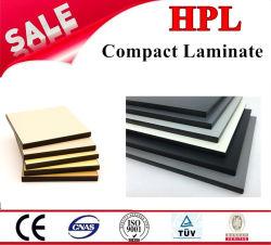 Noyau noir stratifié compact pour la toilette de partition ou de revêtement mural