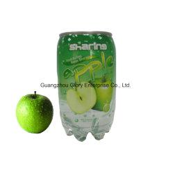 345ml PET peuvent boire du jus de pomme gazeuse Soda