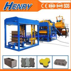 5% Henry Qt8-15 완전 자동 유압 홀로우 콘크리트 널리 사용되는 블록 방글라데시에서 머신 포장 기계 제작
