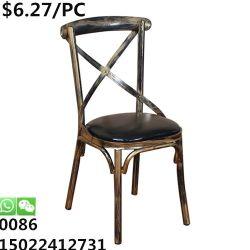 استعمل أثاث لازم تجاريّة قابل للتراكم مطعم عرس مأدبة يتعشّى كرسي تثبيت
