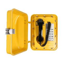Prueba de la Climatología Teléfono Retro Auricular de teléfono estanco de teclado