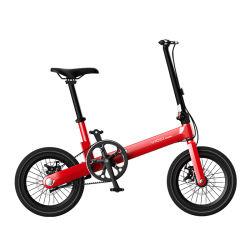 중국 도매 Portable 10kg 성숙한 접히는 자전거 16 인치 최신 판매 소형 작은 접히는 자전거