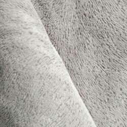 100 % polyester Tissu tricoté canapé en velours avec Flocage