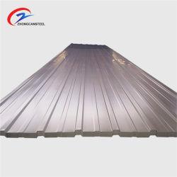 Preço baixo do telhado de metal galvanizados a quente de folhas utilizadas galvanizado médios a folha de telhas onduladas