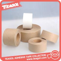 Water-Activated recubierto de papel Kraft reforzado engomado Tape, Cinta