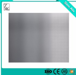 A1050 1060 1100 ورقة ألومنيوم / لوحة سعر مادة البناء