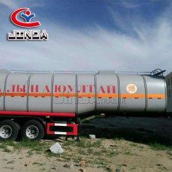 Tank de Van uitstekende kwaliteit van de Aanhangwagen van de Tank van de Brandstof van het Aluminium 3axles van de Fabriek van Jinda/van de Aanhangwagen van het Water voor Hete Verkoop