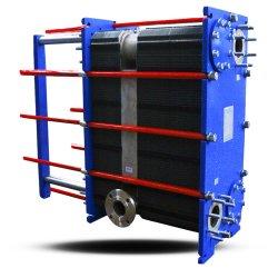 Mx25 SS304/316L/Titaniumの版の熱交換器の冶金の企業または採鉱産業の海洋の熱交換器のために冷却するアルミニウムSmeltingの製造所の給油