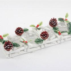 Decorações de Natal de madeira madeira artesanais de madeira para decoração