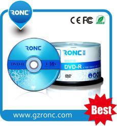 중국 도매 공백 디스크에 의하여 인쇄되는 색깔 4.7GB 16X DVDR