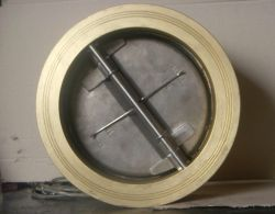 Pn10 de bronce de la placa de aluminio de doble válvula de retención Tipo Wafer