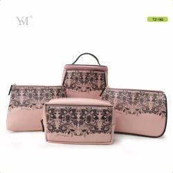 Comercio al por mayor de la marca original de cuero PVC personalizadas de viajes Bolsa de maquillaje