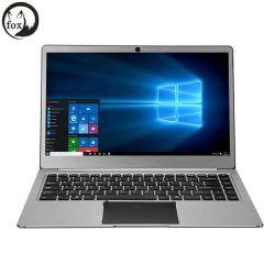 Fox 휴대용 퍼스널 컴퓨터 FHD 쿼드 코어 아폴로 호수 N3450 4GB 렘 64GB ROM Emmc USB3.0 유형 C 14.1 인치 노트북 휴대용 퍼스널 컴퓨터 Windows10