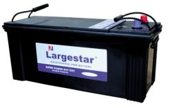 Mf N150 Batterij van de Auto Largestar van het Onderhoud de Vrije