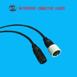 PVC/Nylon LED Verbinder mit Stecker des Kabel-IP68 220V