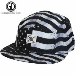 2016方法涼しい米国のフラグの刺繍の平らなピーク急な回復の帽子