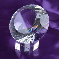 100mm 120mm 150mm mais facetas máquina feita Grande Diamante de Cristal