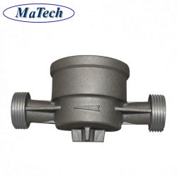 Литейное производство металлического корпуса клапана из анодированного алюминия, литье под давлением