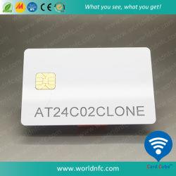 베스트셀러 PVC At88 지능적인 접촉 칩 카드