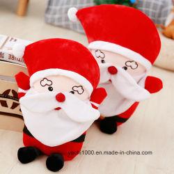 Comercio al por mayor de la Navidad Santa Claus encantador juguete de peluche