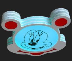 Com o alto-falante Bluetooth, o Rato Mickey moldar a luz de LED inteligente