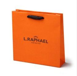 het Winkelen van de Handtas van de Kleurendruk van de Kaart van 30*8*29.5cm de Witte Zak van het Document van de Manier van de Handtas
