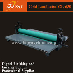Boway Office Cheap Manual 650mm Pouch Film Cold Laminator (Cl-650)