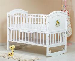 Lit bébé en bois de vente chaude Nice Style lit bébé Lit bébé (M-X1022)