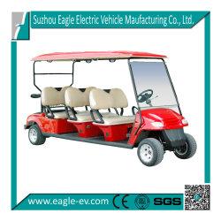 電気ゴルフカート、6つのシート、5kw ACモーター