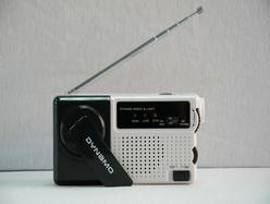 アラームLEDライト料金移動式FM/Amの無線のダイナモ