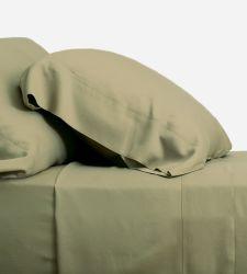 100% de bambu orgânico Lençol Definir Cor pura lençóis de cama de bambu